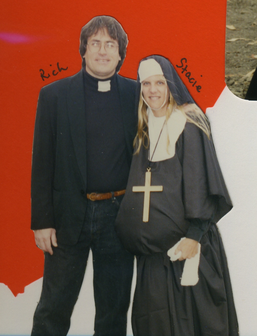 Stacie And Rich As Priest And Pregnant Nun Stacies Snapshots