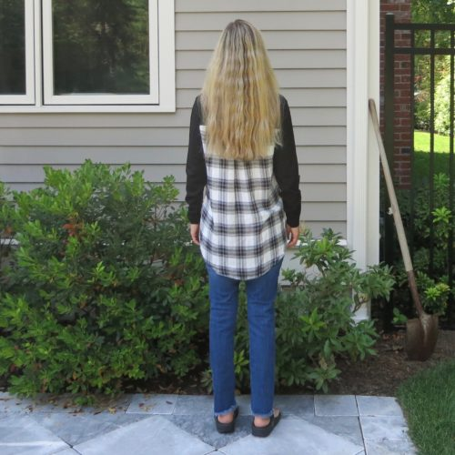 Dempsey Plaid Back Pullover